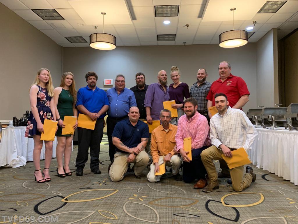 Gold Extrication Award Recipients