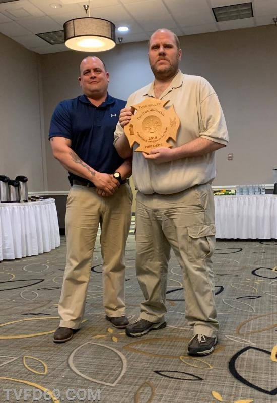 """""""Fire Police Officer of the Year"""" Tim Cunningham"""