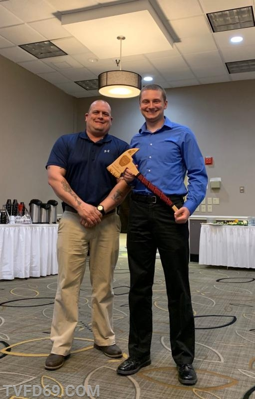 """""""Firefighter of the Year"""" Keith Gehman"""