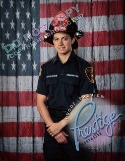 Firefighter Lucas Richardson