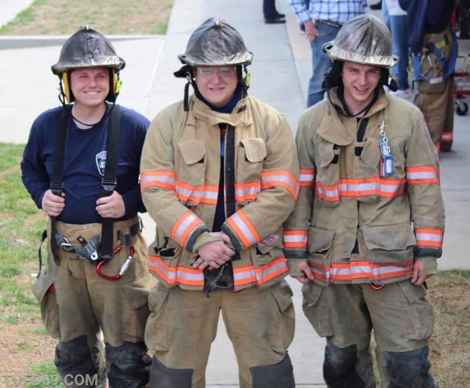 Students T. Weisner, T. Weiler, J. Porter