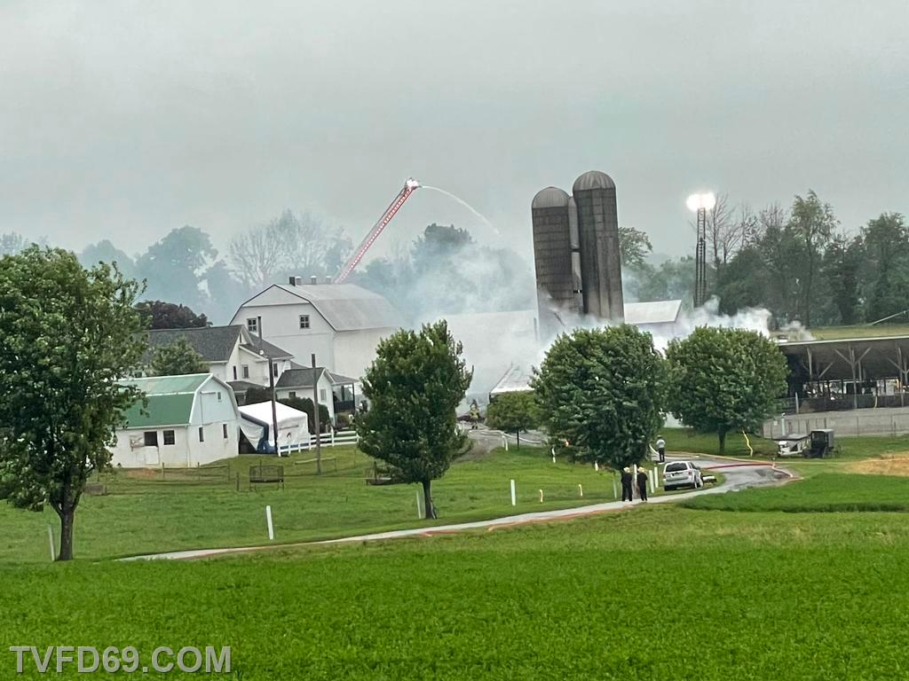 Ladder 8 and Ladder 49 operating master streams