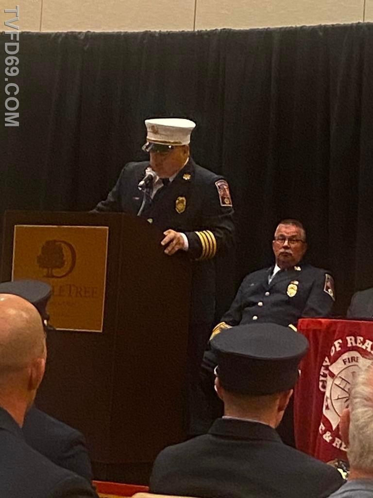 Reading Fire Deputy Chief Banks